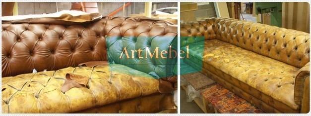 Перетяжка диванов Киев