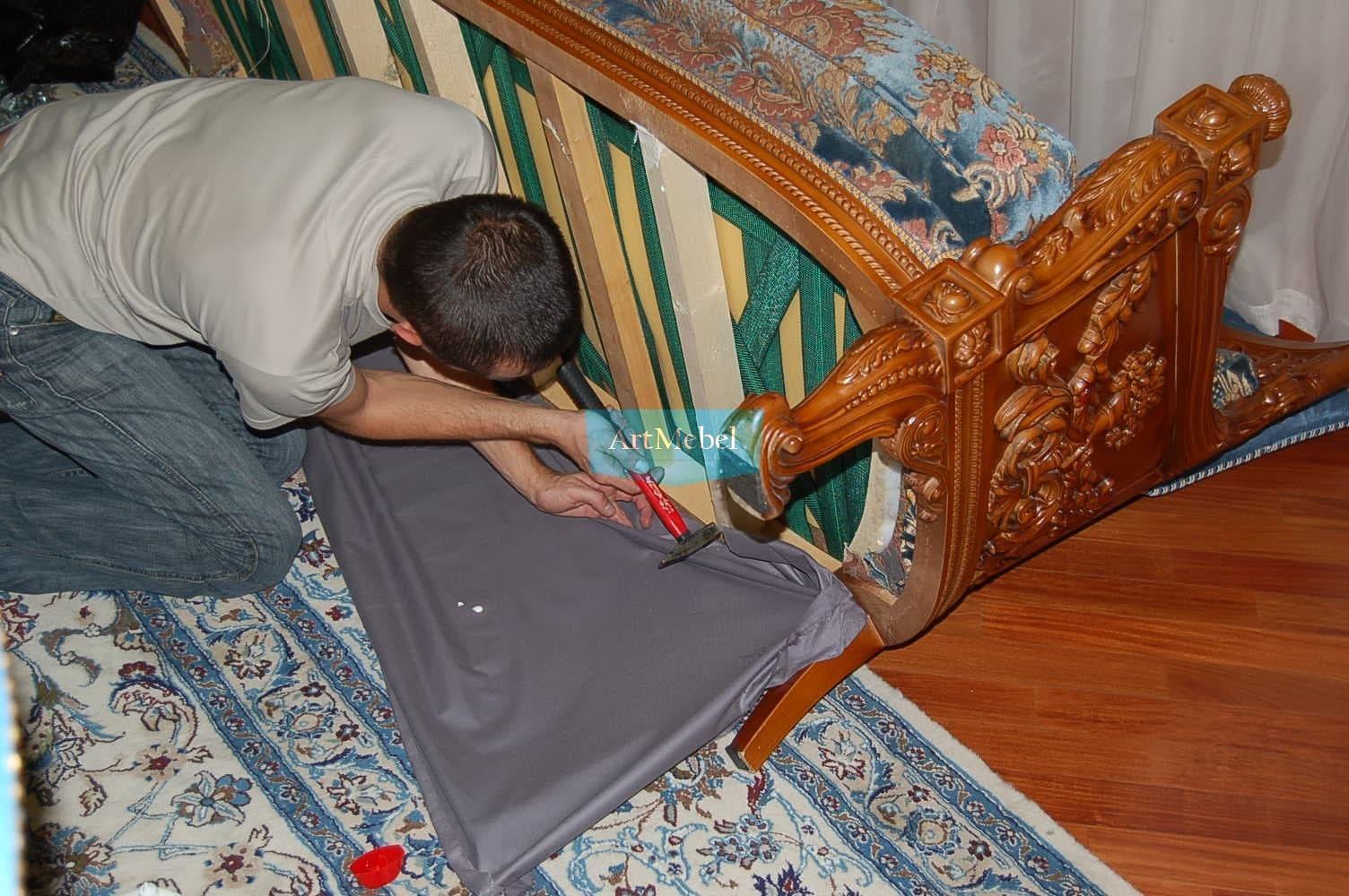 работа обивка мебели Киев